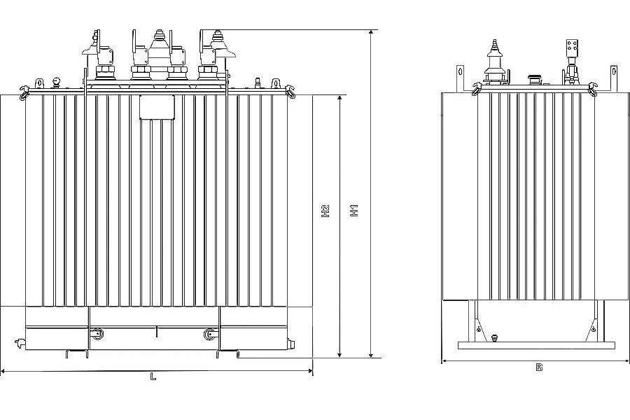 Ремонт трансформатора ТМГ 160 10 0,4 фото чертежи завода производителя