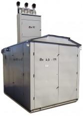 Тупиковые подстанции с воздушным вводом КТП-ТВ